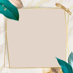 Botanical rectangle frame design vector | premium image by rawpixel.com / Adj Framed Wallpaper, Graphic Wallpaper, Pink Wallpaper, Instagram Frame, Instagram Design, Pastel Background, Background Patterns, Photo Collage Template, Glitter Frame