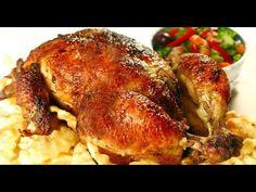 Pollo en Brasa Venezolano - YouTube Venezuelan Food, Venezuelan Recipes, Turkey, Meat, Chicken, Youtube, Peruvian Recipes, Turkey Country