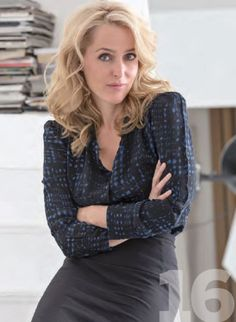Gillian Anderson - Backstage Magazine - March 6, 2014 Issue ...