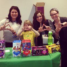 Kappa Delta loves the Girl Scouts #UniversityofNebraska