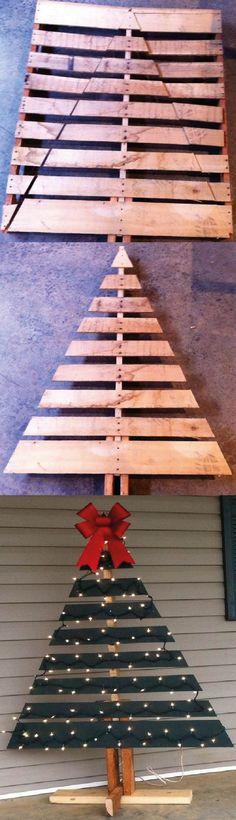 arbolitos-de-navidad-de-madera-reciclados-16.jpg (1250×4345)