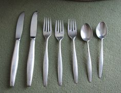 S. Kirk & Son Sterling Silverware Signet Pattern by LazyYVintage