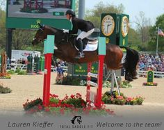 Total Saddle Fit welcomes 4 star Eventer Lauren Kieffer to their team of sponsored riders.