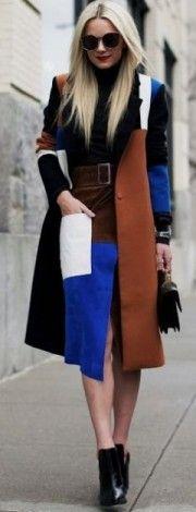 multicolor, coat, elegant, stylish, winter, streetstyle, atlantic, pacific