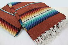 Mexican Serape Blanket Beach Yoga Sarape Throw Zarape New Rug Southwestern   Home & Garden, Home Décor, Afghans & Throw Blankets   eBay!