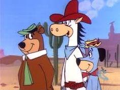 Quickdraw Mcgraw, Yogi and Huck
