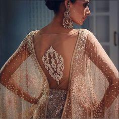 Drop dead gorgeousness by #taruntahiliani @tarun_tahiliani #indianfashion #indiancouture