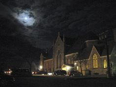 Bennington Banner county news/religion editor Mark Rondeau took this photo  on April 4 after the 8 p.m. Easter Vigil at Sacred Heart St. Francis de Sales in Bennington.