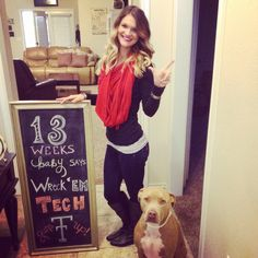 Pregnancy tracker. Texas tech. Pregnancy chalkboard. 13 weeks pregnant