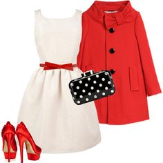 """""""A Christmas Outfit for Jess"""" by dresslikenewgirl on Polyvore"""