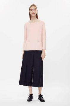 COS | A-line wool jumper