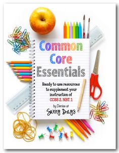 Common Core Essentials 2nd Grade - packs of activities that correlate to one specific standard so they can be used all year-round