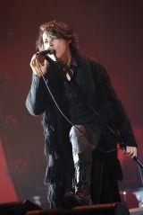 来年の5月29日に日本武道館公演を行うことを発表したRYUICHI=『LUNA SEA The Holy Night -Beyond the Limit-』