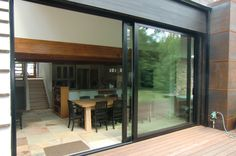 Photos of Folding Glass Walls from our Completed Projects