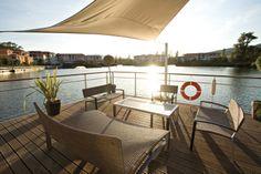 Vue sur le Lac à la Table du Lac du MMV Resort **** de Cannes-Mandelieu