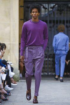 Officine Generale Fashion Show Menswear Spring Summer 2018 Collection in Paris