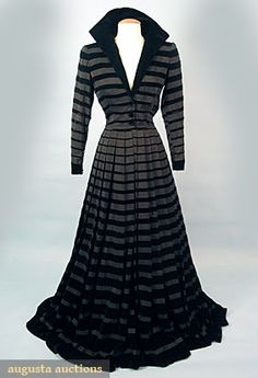 Jacques Fath Evening Gown, circa 1950, via Augusta Auctions.