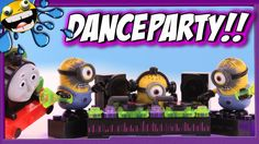 MINIONS Mega Bloks Dance Party & Thomas the Train RC Percy Unboxing!!