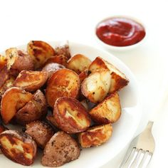 BEST EVER Crispy Breakfast Potatoes, thanks to one simple trick! Vegan + GF.