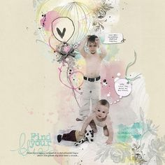 Find your bliss... by beszteri | created using Anna Aspnes' and Maya De Groot's kits