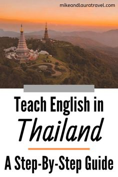 One of the best ways to live and work abroad is by teaching English as a second language. In this guide, you'll learn exactly how to teach English in Thailand: everything you need to know about being an expat and working abroad! Travel Usa, Travel Europe, Travel Packing, Travel Backpack, Overseas Jobs, Traveling Teacher, Thailand Travel Tips, Work Abroad, Second Language