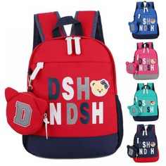 Letter Printed Orthopedic School Bag for Kids  Price: 19.78 & FREE Shipping  #schoolbags