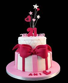 21stbirthdaycakeimagesforgirls339 cake pics Pinterest