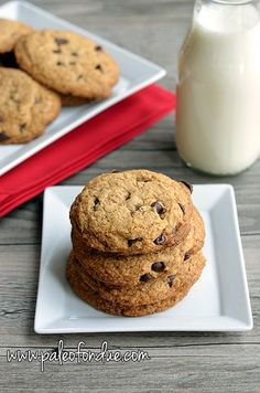 MUST TRY!!!!  CHOCOLATE CHIP COOKIES NUT FREE GRAIN FREE DAIRY FREE www.kateshealthycupboard.com