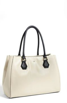 Kate Spade New York  leather tote @Pascale Lemay Lemay De Groof