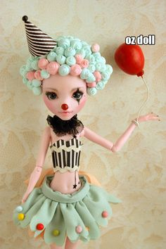 Custom monster high doll