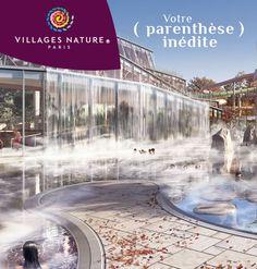 Tentez de gagner un séjour de 4 nuits* au cœur de Villages Nature® Paris en découvrant votre parenthèse inédite