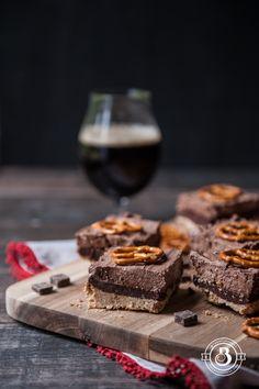 Chocolate Stout Truffle Mousse Bars with Pretzel Crust2