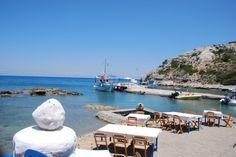 Lindos Beach, Rhodes Island #Cyclads
