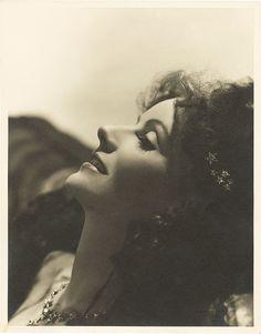 Greta Garbo in Camille wearing Joseff Hollywood Jewelry.