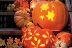 Jack-O'-Lantern Pumpkin Carving Ideas