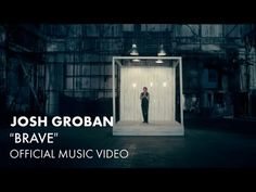 "Josh Groban - Brave [Official Music Video]  The little 1yr. old boy I nanny says ""WOW"" every time I watch this music video at work. He has good taste...one of my favorite songs from this album. :)"