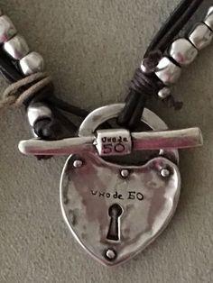 NWT!!!. Uno de 50 Necklace.  The Secret  COL 0717.
