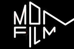 Logotype detail for Momento Film by Swedish graphic design studio Bedow