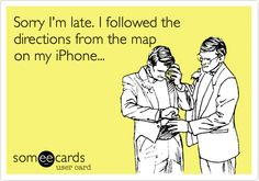 #iphone5 #ios6 #directions   #lost