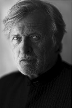 Rutger Hauer by John Midgley.  True Blood is fortunate to add him to their cast 2013 season.