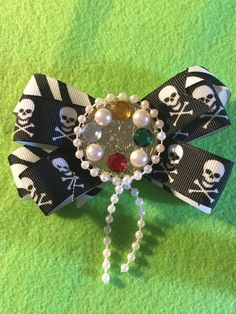 A personal favorite from my Etsy shop https://www.etsy.com/listing/541890330/pirates-with-jewelry-hair-bow