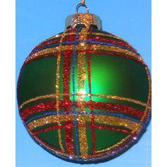 Horizons East Plaid Ball Ornaments & Reviews | Wayfair