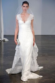4adf58dc 10 Breathtaking Lace Wedding Gowns From Spring 2014 Collections |  Weddingomania Marchesa Wedding Dress, Marchesa