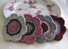 Вязание. Море идей:)) - Babyblog.ru. Just pic. Flower. Coaster