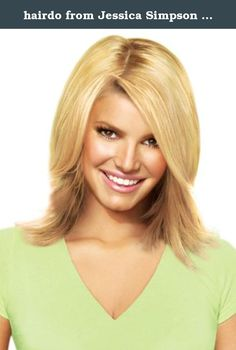"""hairdo from Jessica Simpson and Ken Paves 14"""" Clip-In Extension, Layered Flip, Ginger Blonde. 14"""" Synthetic Clip In Extensions."""