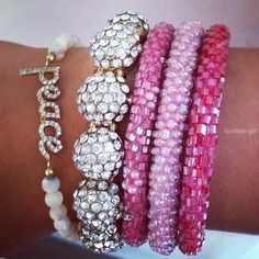 ❤,bling and pink??? what more could you want??