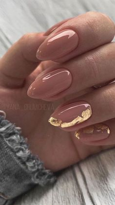 Fabulous Nails, Perfect Nails, Gorgeous Nails, Cute Nail Art Designs, Nail Art Ideas, Foil Nail Designs, New Nail Art Design, Elegant Nail Designs, Different Nail Designs