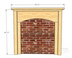 Ana White | Build a Fireplace, Anywhere | Free and Easy DIY Project and Furniture Plans