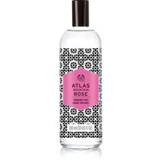 Atlas Mountain Rose Long Lasting Refreshing Rose Scented Body Mist |... ($15) ❤ liked on Polyvore featuring beauty products, fragrance, floral perfumes, spray perfume, rose scented perfume, floral scented perfumes and the body shop