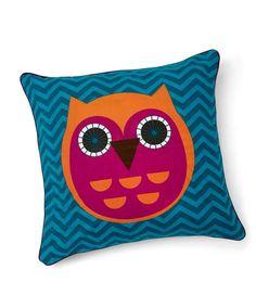 Patternology - Owl Cushion - Patternology - Mamas & Papas  #mamasandpapas #dreamnursery